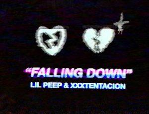 """Η συνεργασία του Lil Peep και του XXXTentacion στο """"Falling Down"""" κυκλοφορεί μετά τον τραγικό θάνατο και των δύο ράπερ, οι οποίοι έχασαν τη ζωή τους σε νεαρή ηλικία και δεν πρόλαβαν να συμπράξουν επίσημα."""